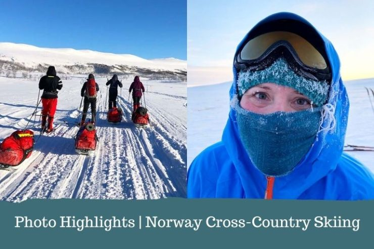 Photo Highlights feature for the Norway Cross-Country Skiing Expedition