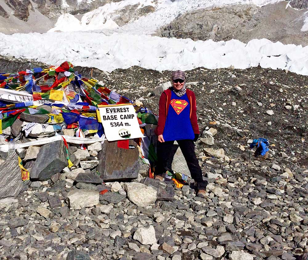 Everest Base Camp - Made it!