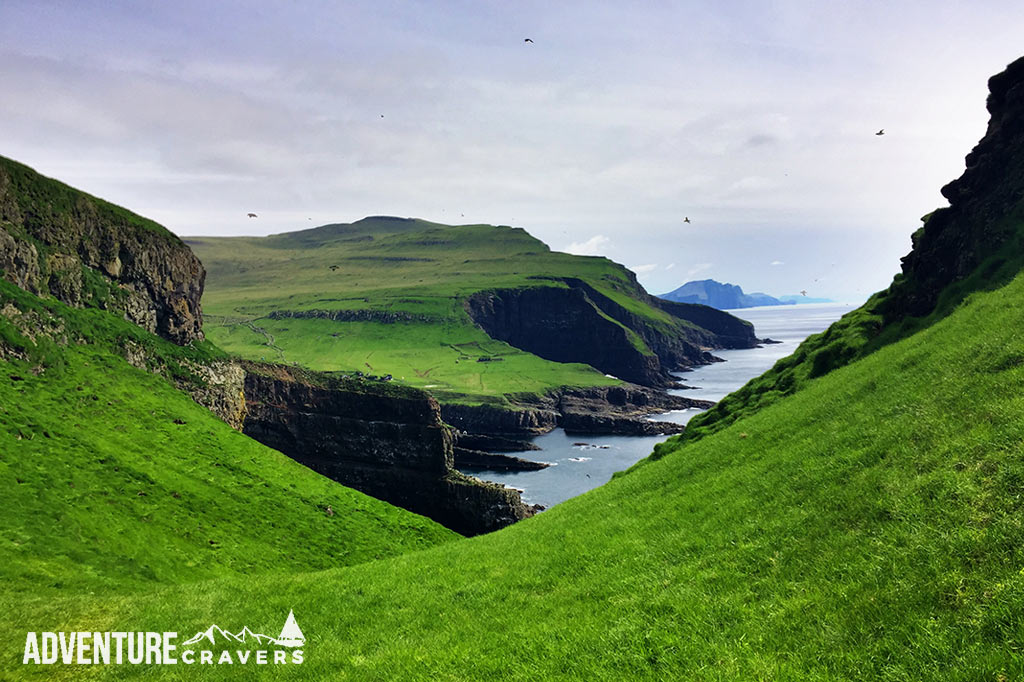 Mykines Island views of the Faroe Islands