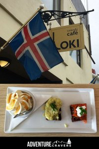Icelandic Rye Bread Ice Cream at Cafe Loki