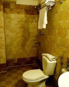 Kathmandu Hotel Shower and Toilet