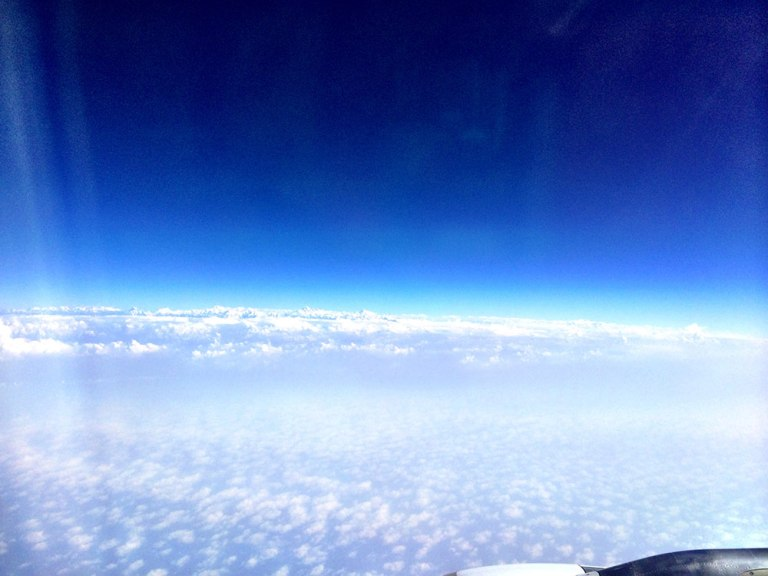 Peaks above the clouds in Nepal