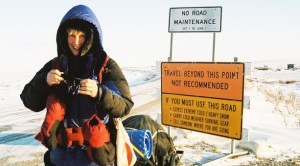 Rosie Swale-Pope Run Around the World - Road Signs
