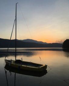 austrian-sunset-lake