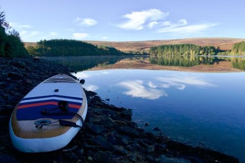 Venford Reservoir Paddle Boarding on Dartmoor