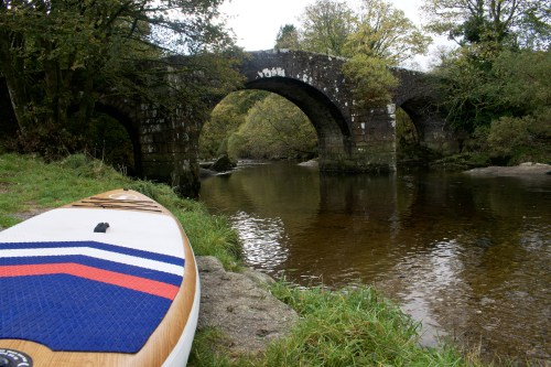 Hexworthy Bridge Paddle Boarding on Dartmoor