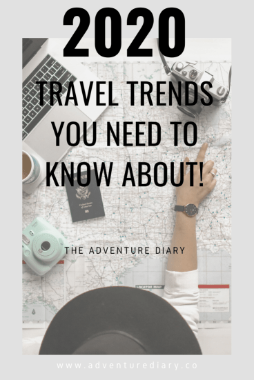 2020 travel, 2020 Travel Trends You Need To Know About!