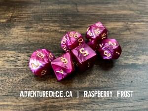 Raspberry Frost Dice