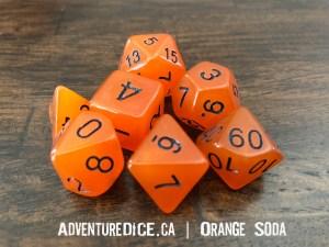 Orange Soda Dice