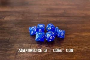 Cobalt Cure Dice