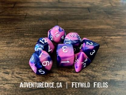 Feywild Fields RPG dice