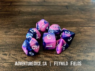 Feywild Fields RPG dice