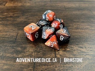 Brimstone RPG dice