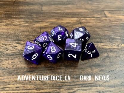 Dark Nexus dice set