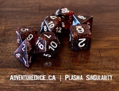 Plasma Singularity RPG dice