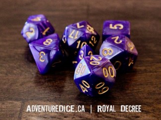 Royal Decree RPG dice