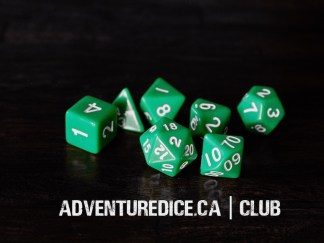 Club dice set