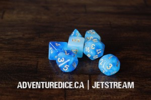 Jetstream dice set
