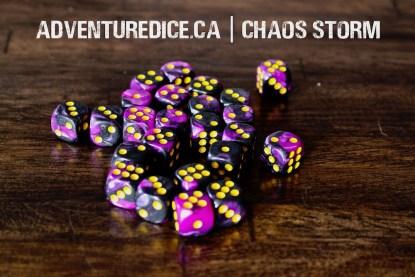 Chaos Storm 24 PK D6 Dice Set