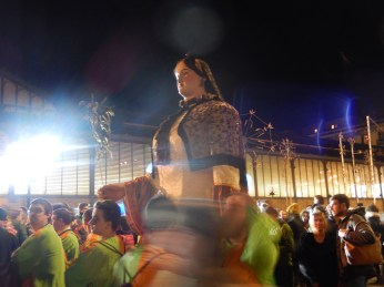 Dancing giant