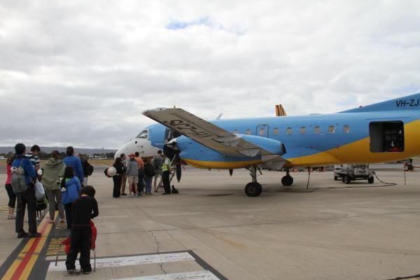 REX飛行機の写真