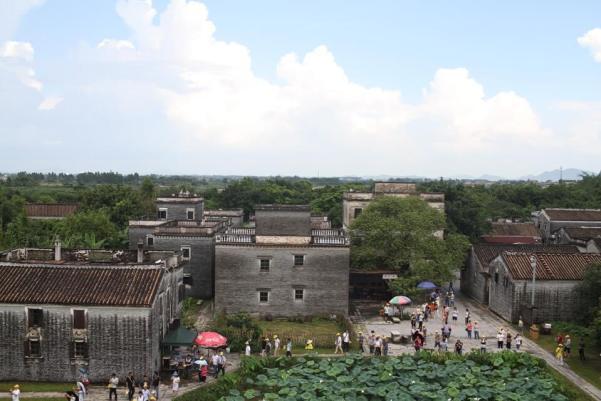 屋上からの眺めの写真