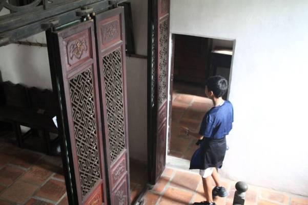 中国式の扉の写真