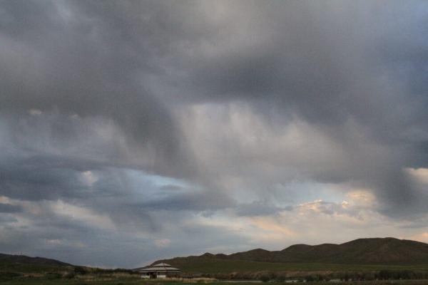 雲が近い写真