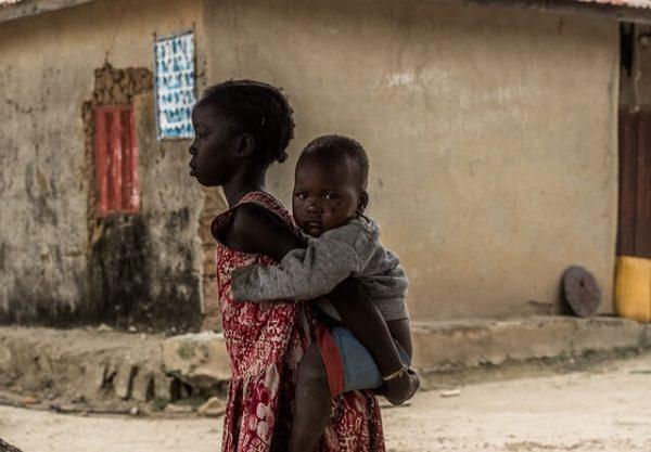 ナイジェリアの子供写真