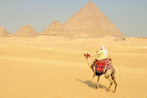 ピラミッド写真