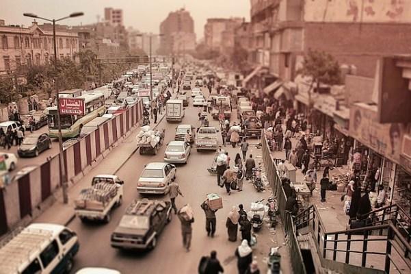 エジプト街写真