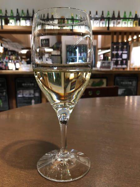 白ワインの写真