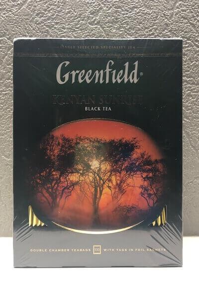 グリーンフィールドの紅茶の写真