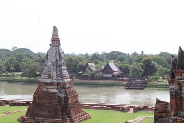 ワット・チャイ・ワッタナーラムからの景色の写真