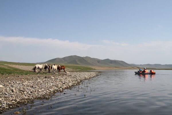 モンゴルの風景写真