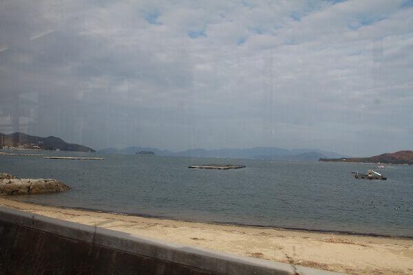 志度湾の眺めの写真