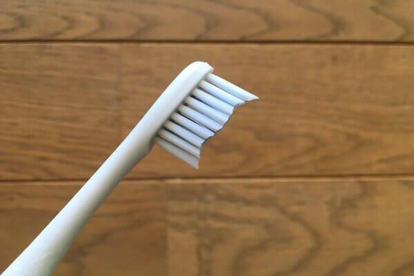歯ブラシのヘッドの写真