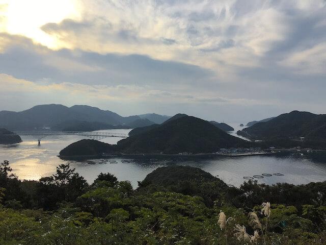 龍観山展望所からの眺めの写真