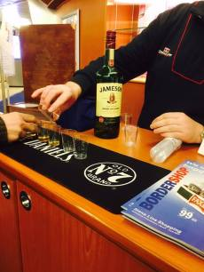 Whiskey tasting ferry