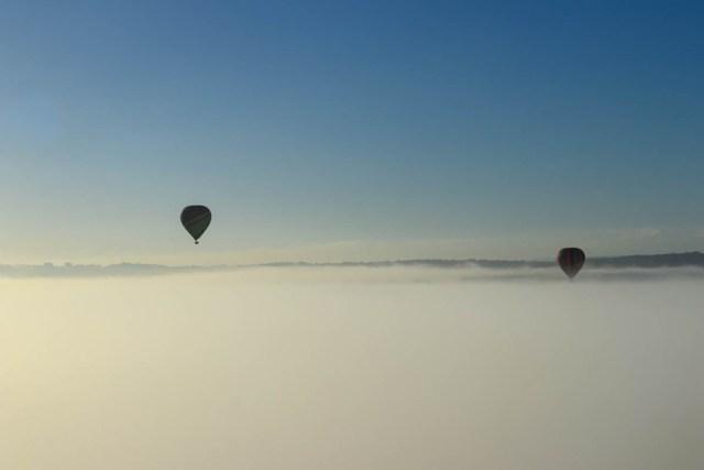 Hunter Valley balloon flight