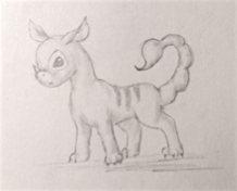 Create Your Own Lilo and Stitch Monster, Pencil, 25 July 2016