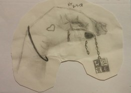 Hand Drawing, Pencil, 9 August 2008