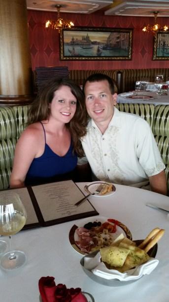Tracy and I at Palo
