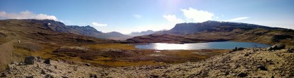 Roadside stop in the East Fjords.