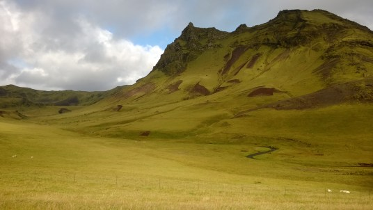 Country side near Vik in the south.