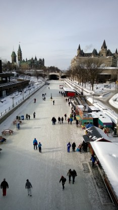 Rideau Canal, a UNESCO World Heritage site