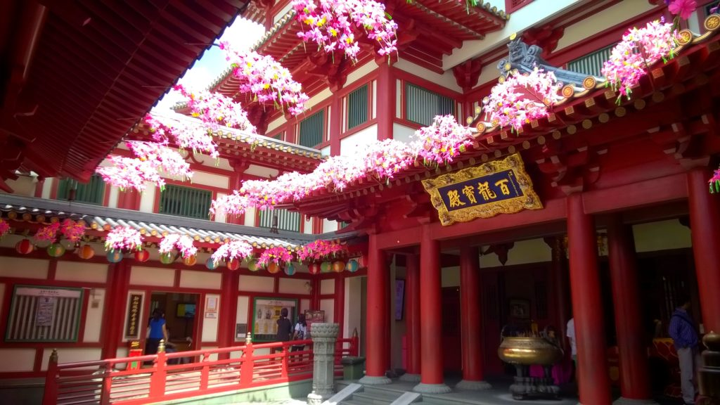 Buddha Tooth Relic Temple in Chinatown.
