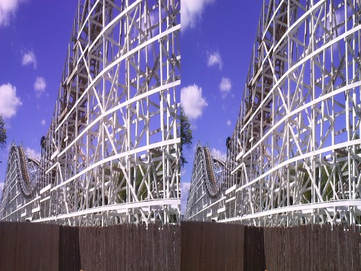 Adventureland's Tornado in 3-D (unprocessed).