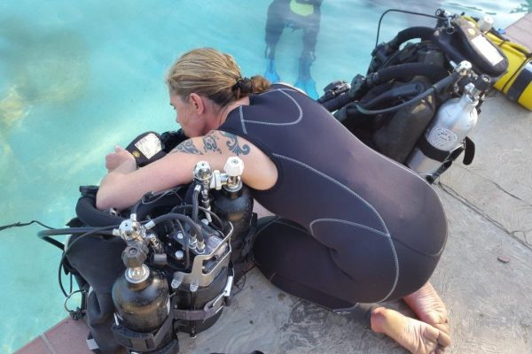 Testing the rebreather