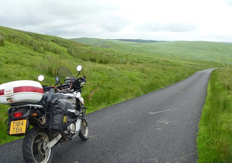 Motorcycle Touring in the UK - Hills